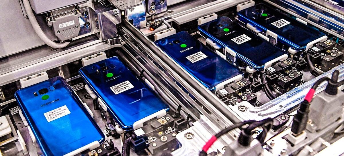 Samsung estaria planejando levar maior parte de sua produção de celulares para a Índia