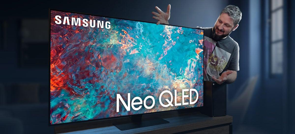 Testamos a TV Samsung Neo QLED QN85A: ótima em esportes e jogos, boa em filmes