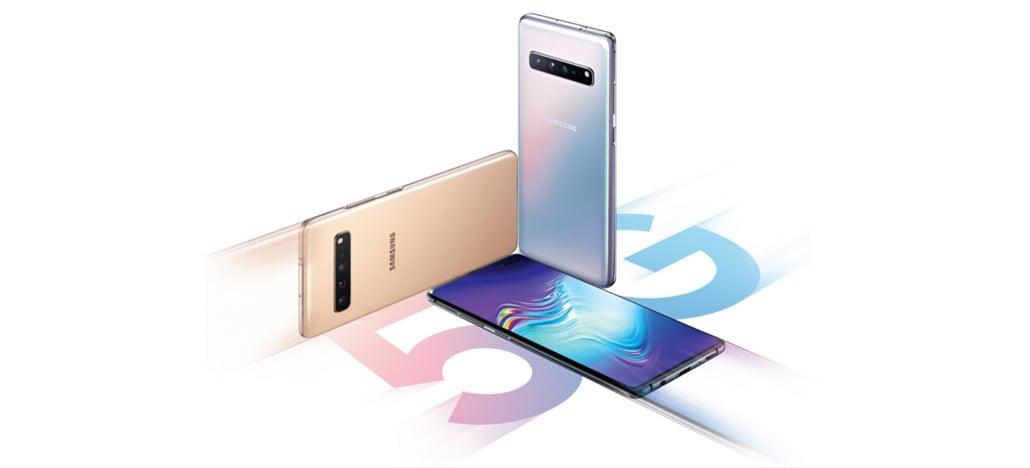 Versão 5G do Galaxy S10 será lançado dia 5 de abril na Coréia