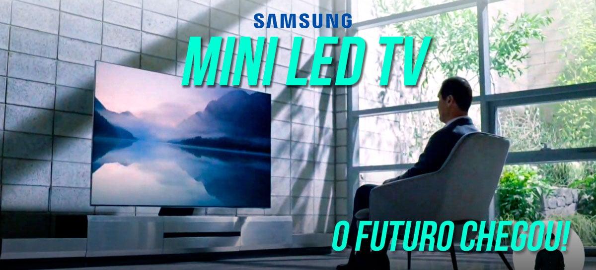 Tecnologia Mini LED trará salto de QUALIDADE e CONTRASTE para TVs Samsung QLED 2021