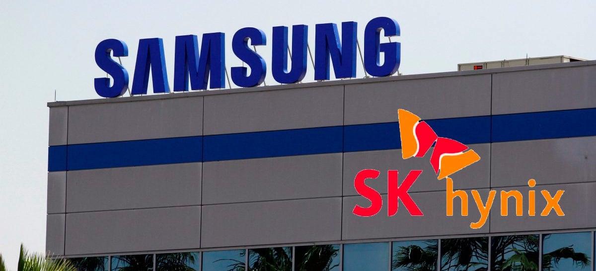 Samsung e SK Hynix vão parar de vender componentes para a Huawei, diz rumor