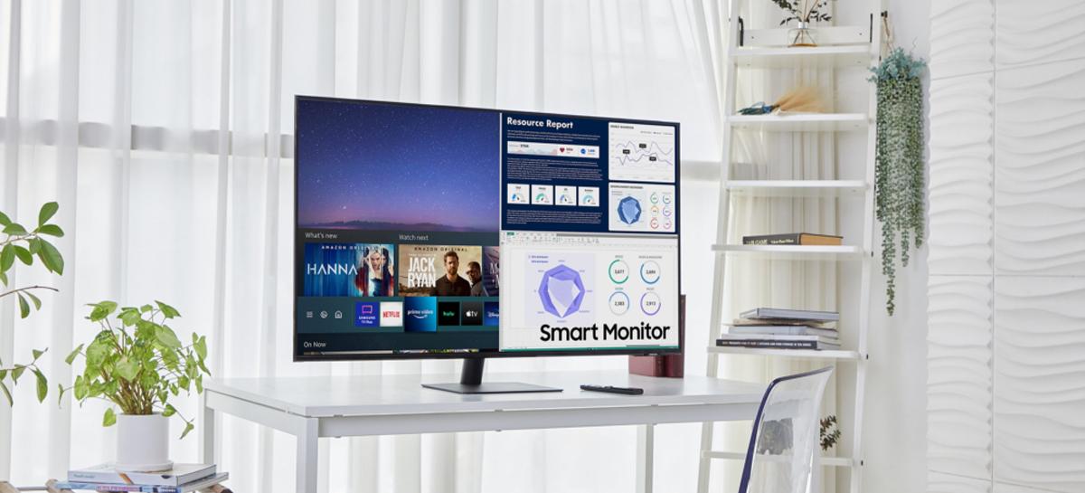 Samsung expande linha de monitores inteligentes com modelos com até 43 polegadas