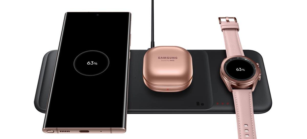 Samsung supostamente está desenvolvendo um carregador sem fio de 25W