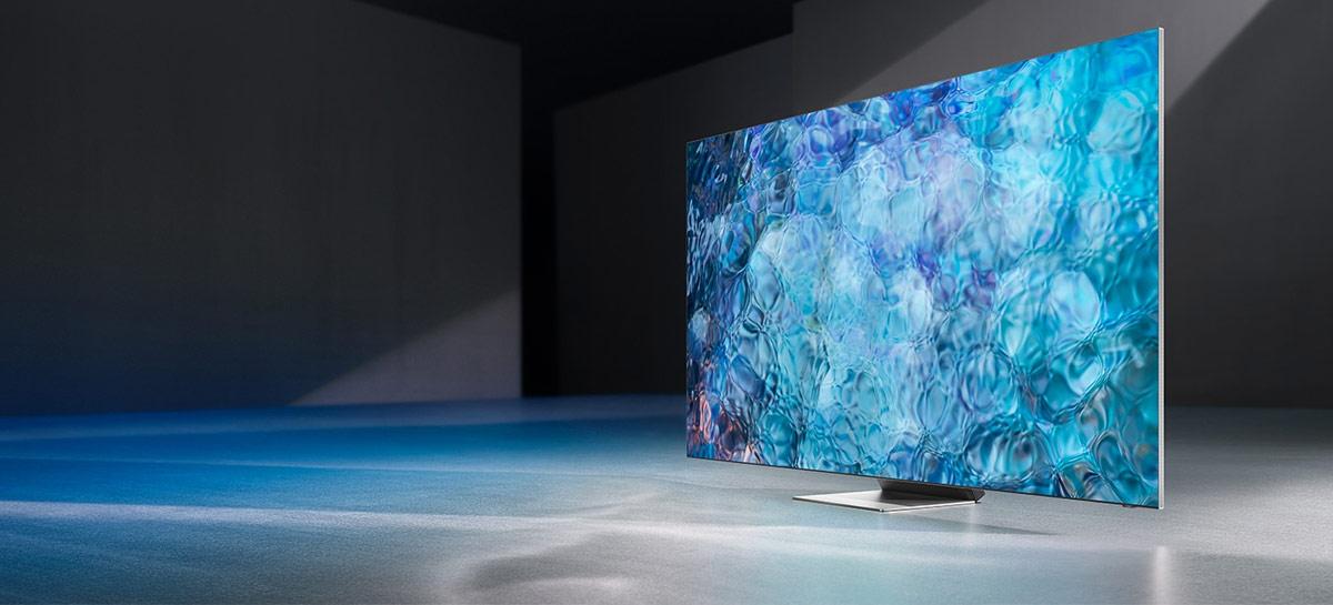 TVs da Samsung podem ser as próximas vítimas da escassez mundial de chips