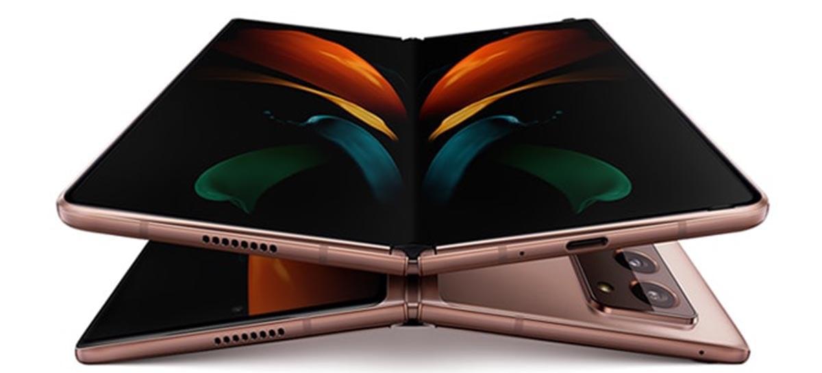 Samsung vai fabricar telas dobráveis para a Google e Xiaomi