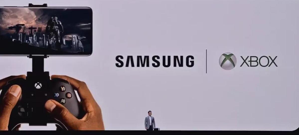 Microsoft e Samsung anunciam parceria com foco em streaming de jogos