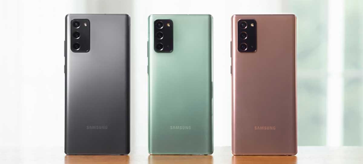Veja infográfico com todos os aparelhos 5G já lançados pela Samsung