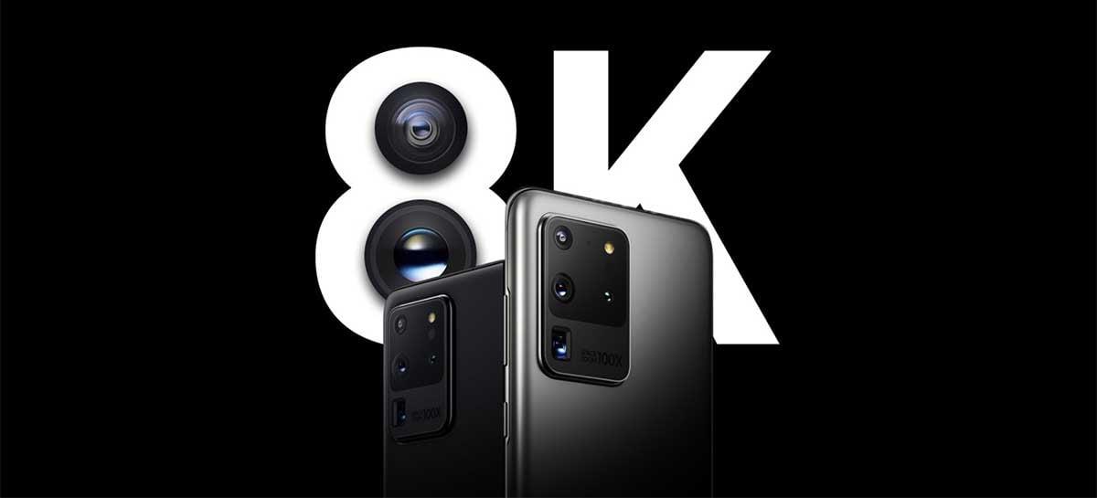 Galaxy S20 e Note 20 serão usados para gravar filme coreano em 8K