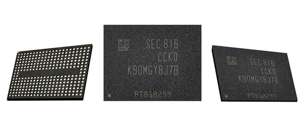 Produção em massa de novas memórias V-NAND da Samsung é iniciada