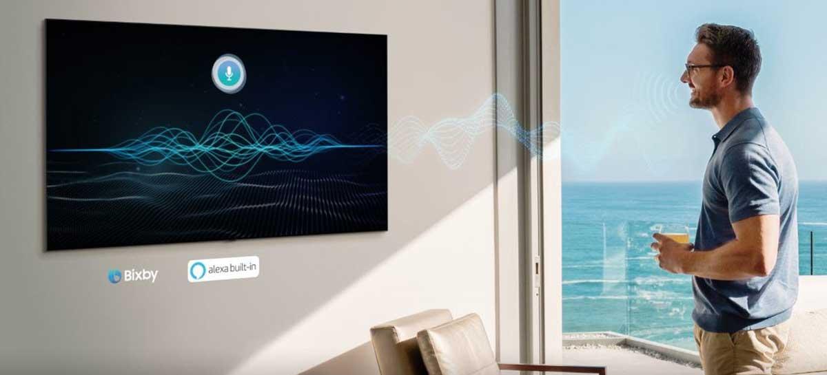 Bixby em português chega para SmartTVs 2020 da Samsung