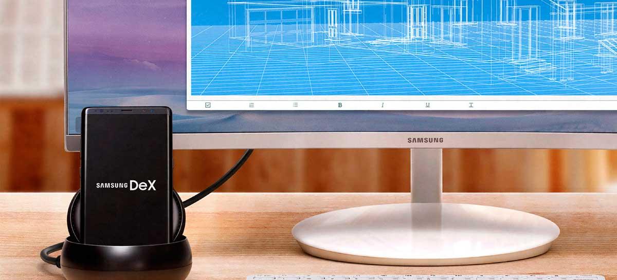 Samsung DeX recebe atualização com novas funções e correções de bugs