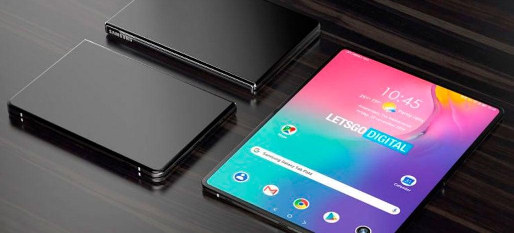 Patente da Samsung mostra possível design do próximo Galaxy Fold