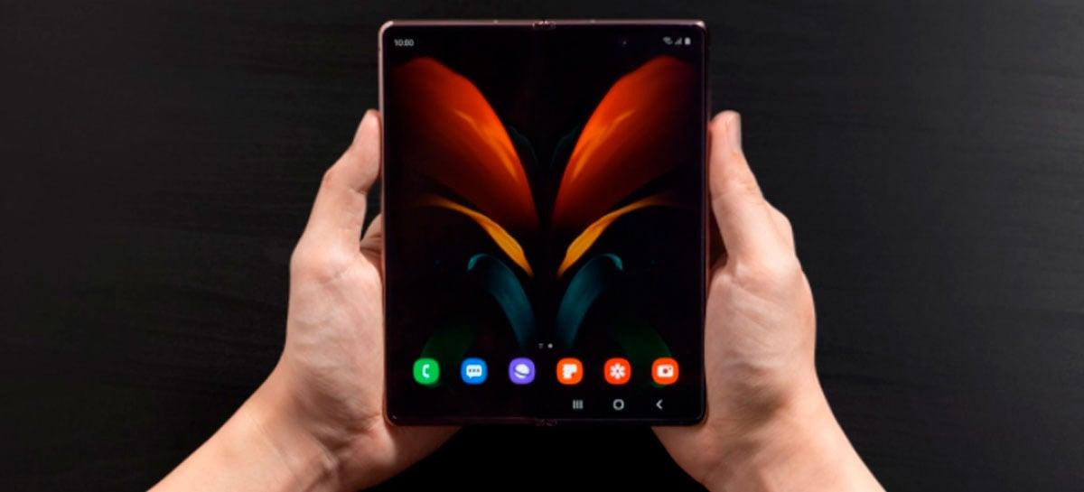 Samsung inicia a venda do Galaxy Z Fold2 5G no Brasil por R$ 13.999