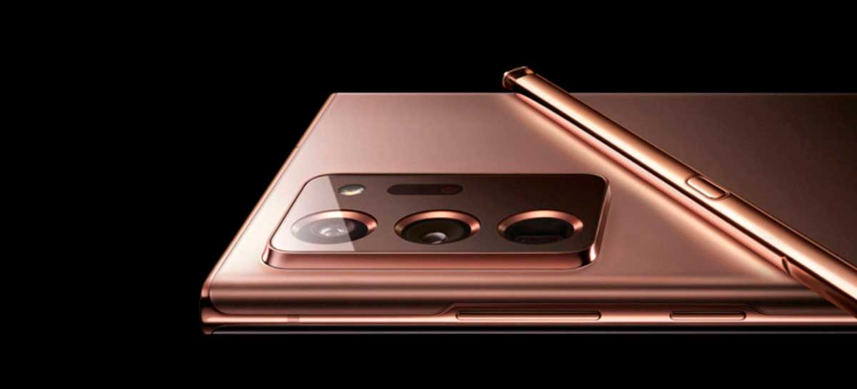 Benchmark do Galaxy Note 20 Ultra mostra um desempenho inferior ao Galaxy S20 Ultra