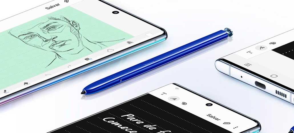 Samsung pode lançar uma versão mais acessível do Galaxy Note 10 [RUMOR]