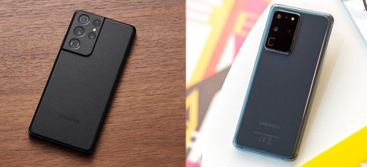 Bateria do Galaxy S21 Ultra com Exynos 2100 dura mais que a do Galaxy S20 Ultra