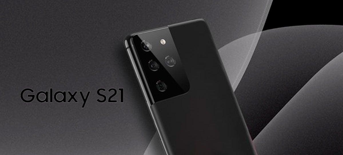 Galaxy S21 Ultra topo de linha terá 16GB de RAM e 512GB de armazenamento