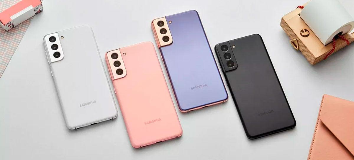 Linha Galaxy S21 já está a venda no Brasil com descontos no lançamento