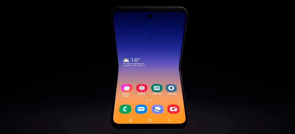 Samsung apresenta conceito de seu novo celular dobrável em vídeo