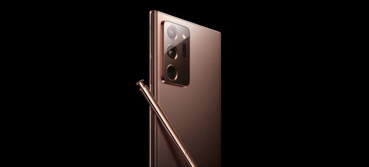 Samsung Galaxy Note 20 Ultra pode vir com suporte para taxa de atualização dinâmica