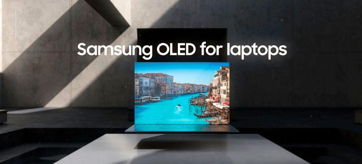 Samsung terá notebooks com tela OLED de 90Hz ainda em 2021