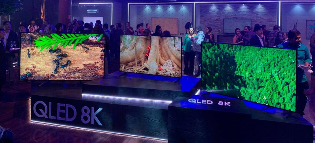 Samsung anuncia suas TVs Q900 QLED 8K por até R$90mil no mercado brasileiro