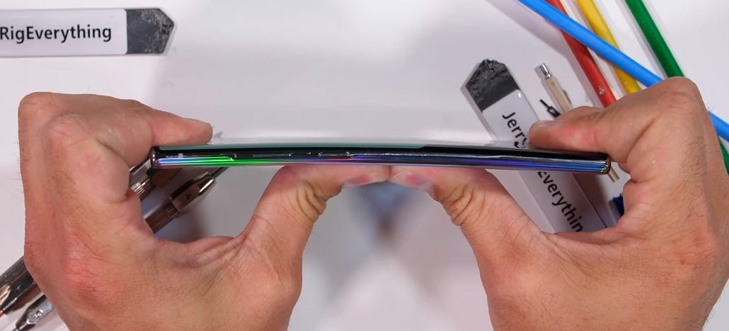 Veja o quanto o Samsung Galaxy Note10+ 5G aguenta em testes de durabilidade