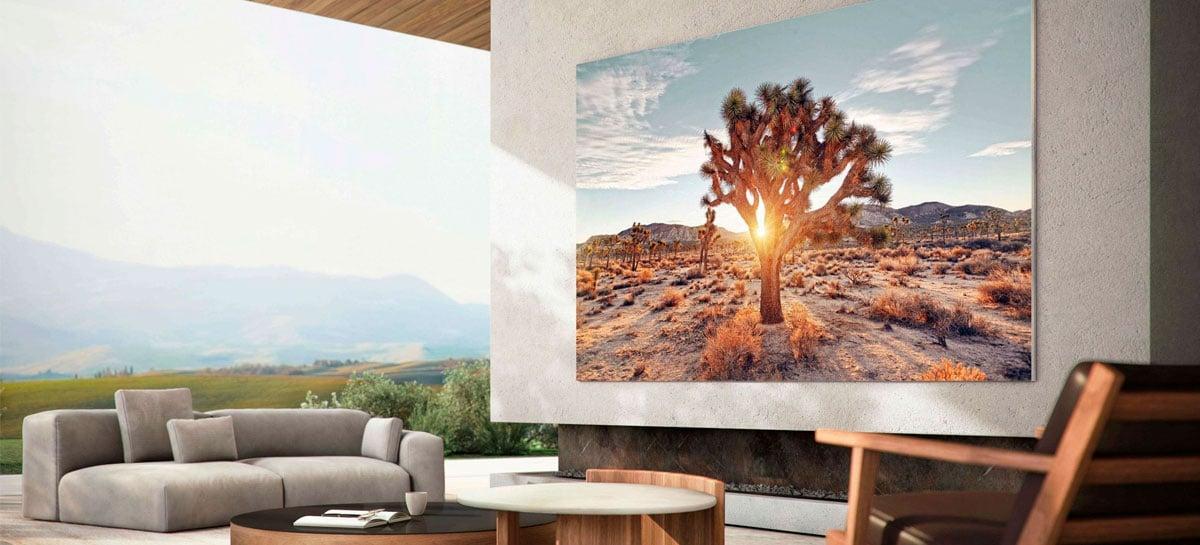 Samsung anuncia sua primeira Smart TV MicroLED de 110 polegadas