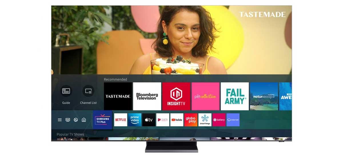 Samsung TV Plus: streaming gratuito da marca chega com 20 canais no Brasil
