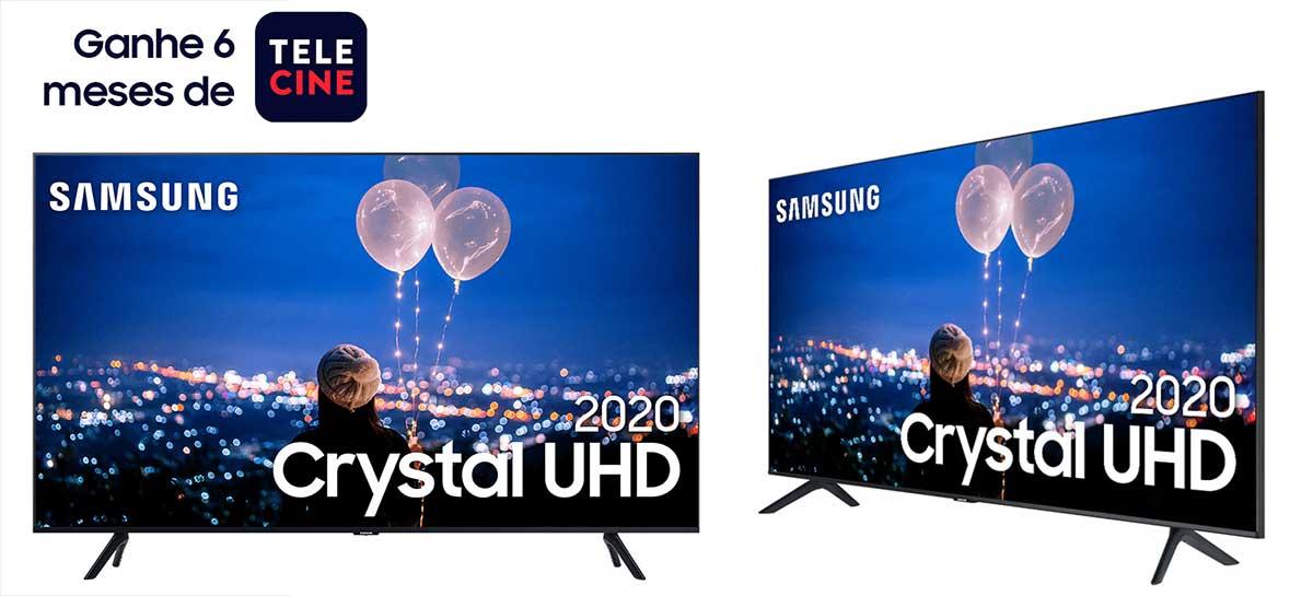 Samsung está dando seis meses de assinatura Telecine na compra de TVs 2020