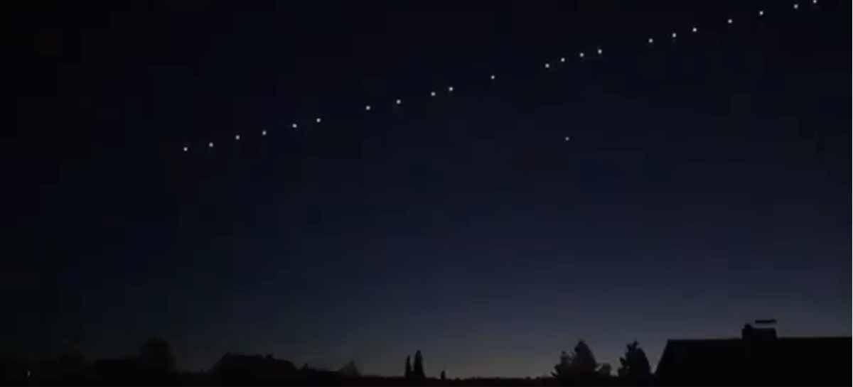 Satélites Starlink ficam visíveis do Brasil e pessoas se assustam