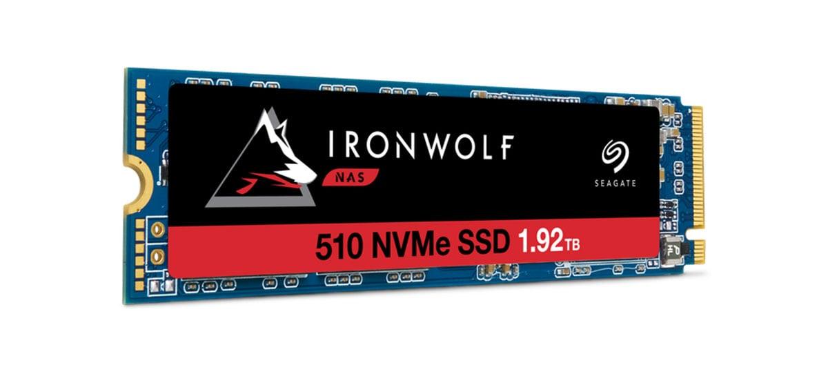 Seagate IronWolf 510 é o primeiro SSD PCIe NVMe do mundo para NAS corporativo