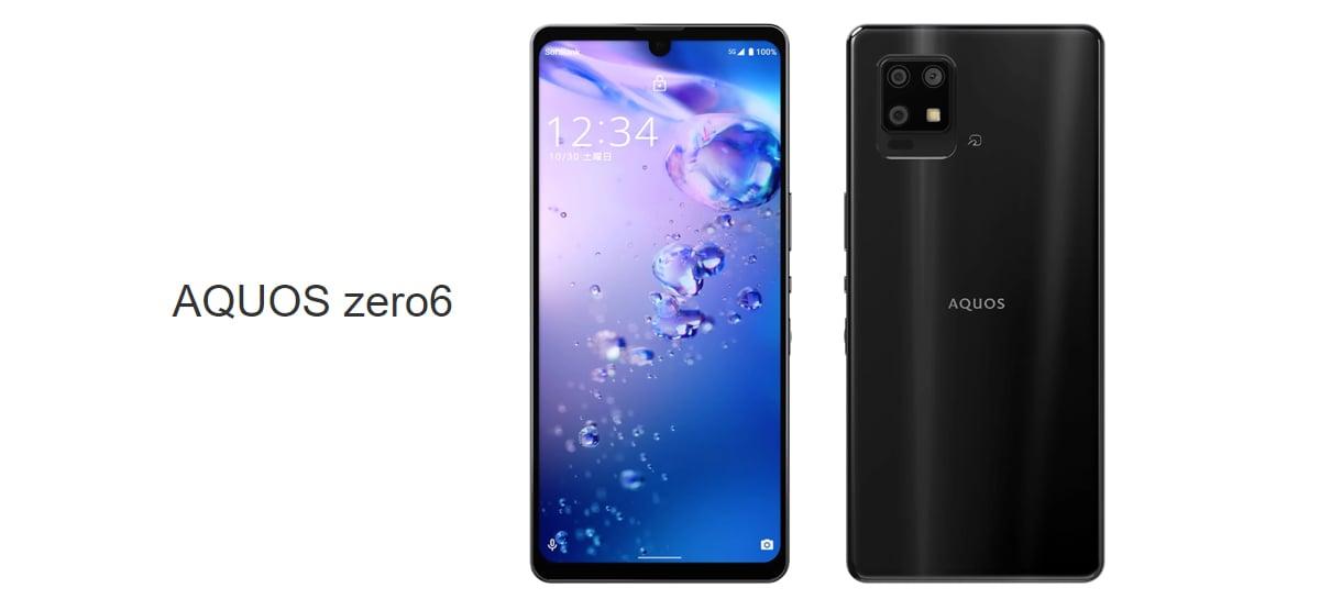Sharp lança smartphone AQUOS zero6 com tela de 240Hz e câmera de 48MP