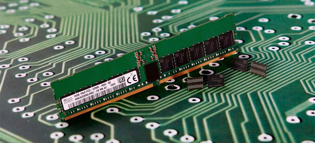 SK Hynix lança os primeiros módulos de memória RAM DDR5 do mundo