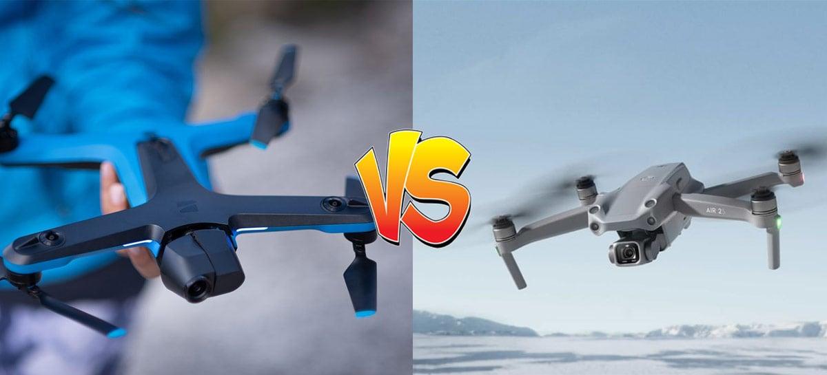 DJI Air 2S vs. Skydio 2: veja qual segue melhor num comparativo em vídeo!