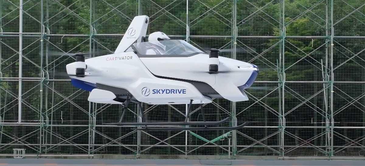 """SkyDrive: veja o """"carro voador"""" da Toyota que deve chegar ao mercado em 2023"""