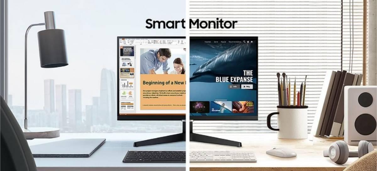 Samsung Smart Monitor: conheça o monitor multiuso com Tizen OS e pacote Microsoft 365