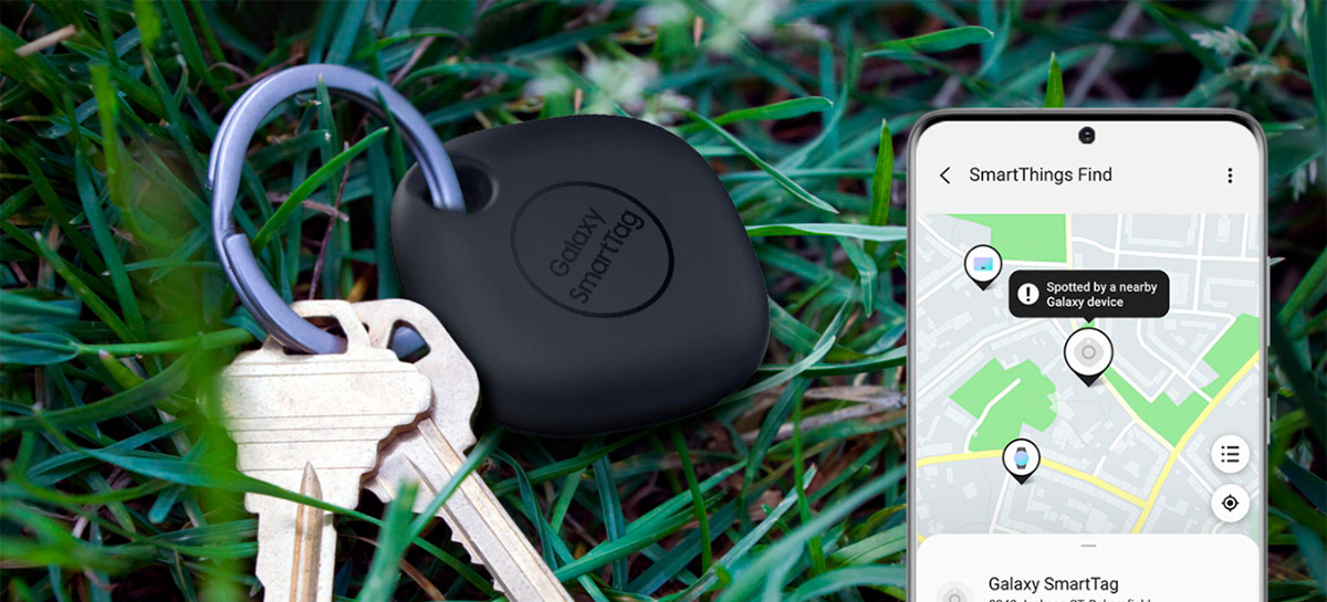 Samsung apresenta Galaxy SmartTag, rastreador Bluetooth que também controla dispositivos