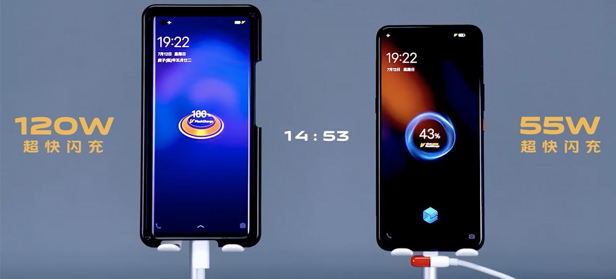 Novo smartphone gamer da Vivo vai carregar bateria completa em 15 minutos