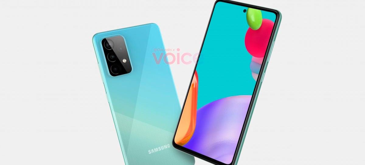 Galaxy A52 e A72: celulares da Samsung viriam com tela 90Hz, indica rumor