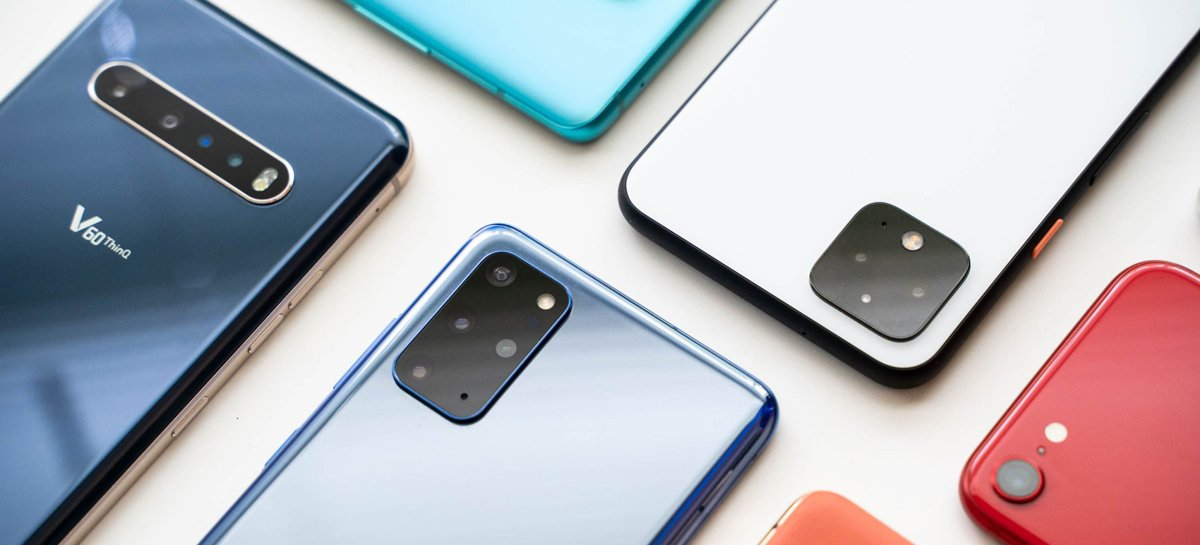 Vendas globais de smartphones devem crescer mais de 10% em 2021