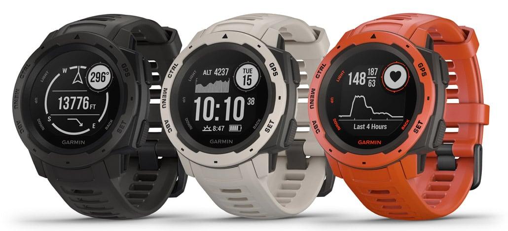 Garmin apresenta Instinct, smartwatch resistente com foco na prática esportiva