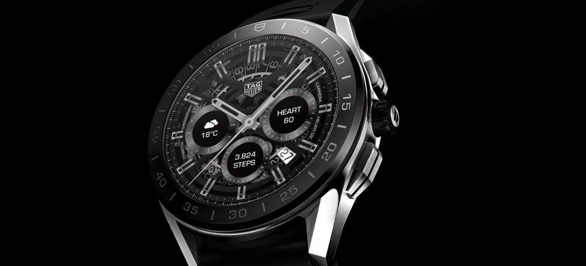 Novo smartwatch de luxo da TAG Heuer traz mais sensores e design refinado