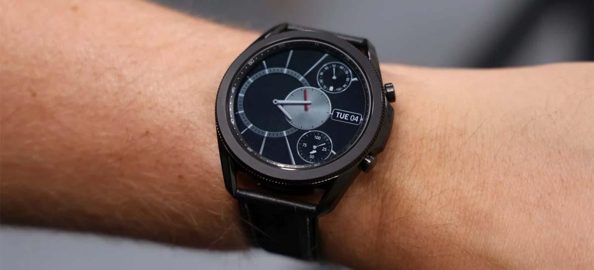 Galaxy Watch 3: atualização adiciona monitoramento de oxigênio no sangue