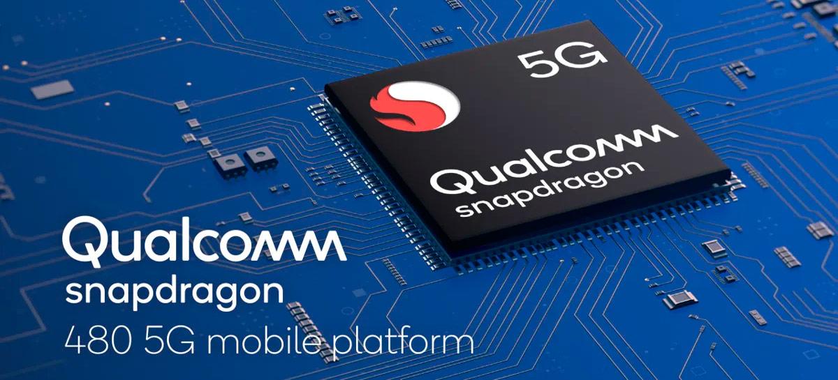 Qualcomm anuncia Snapdragon 480 para levar 5G a celulares mais baratos