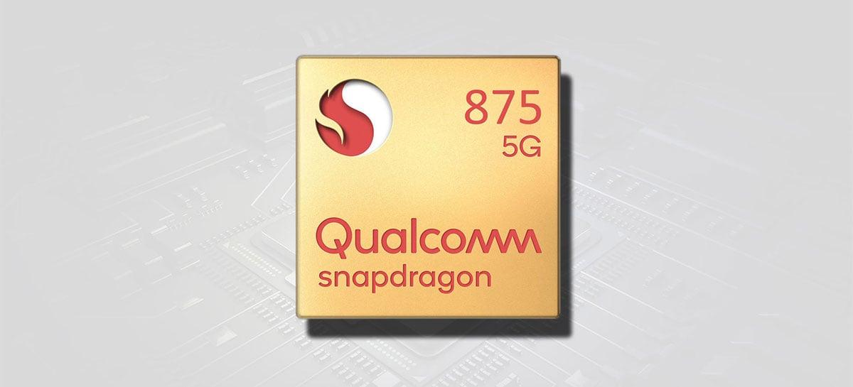 Snapdragon 875G pode chegar final do ano em 5nm em novos smartphones high-end