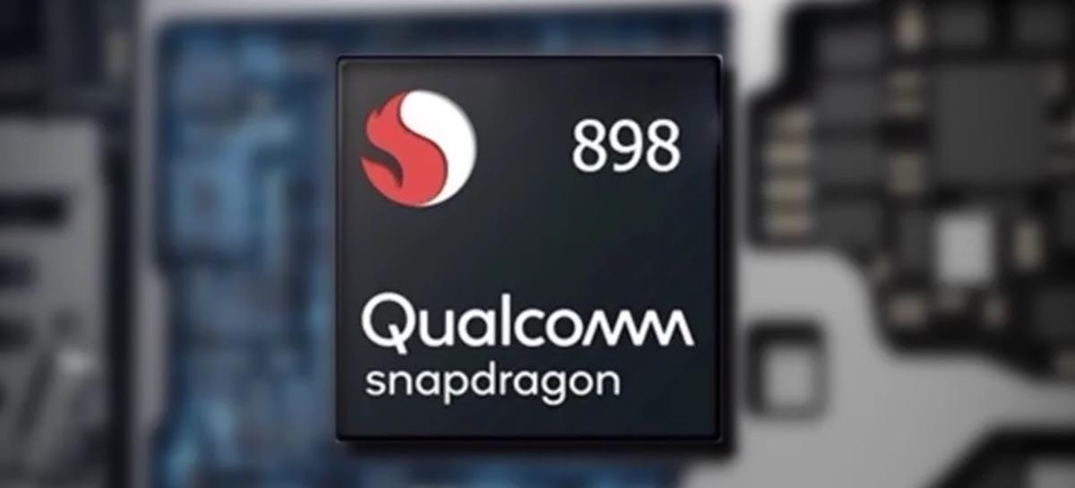 Snapdragon 898 será fabricado pela Samsung em 4nm com desempenho 20% maior