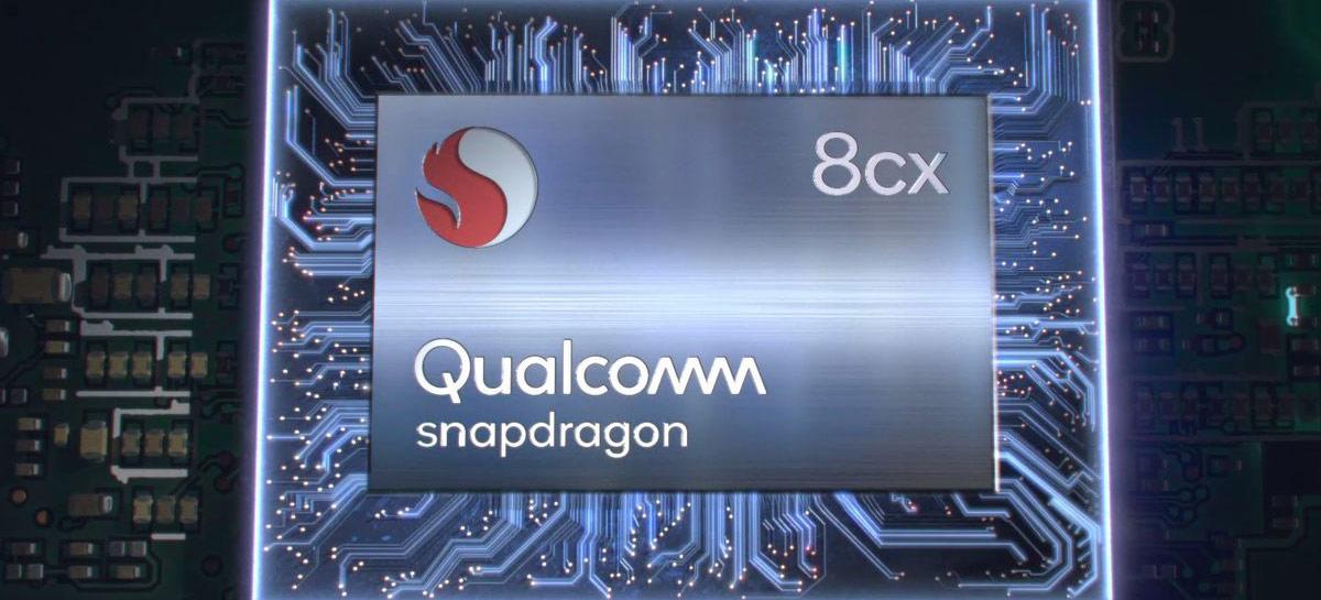 Seguindo Apple M1, nova versão do Snadpragon 8cx deve ter performance bem melhor