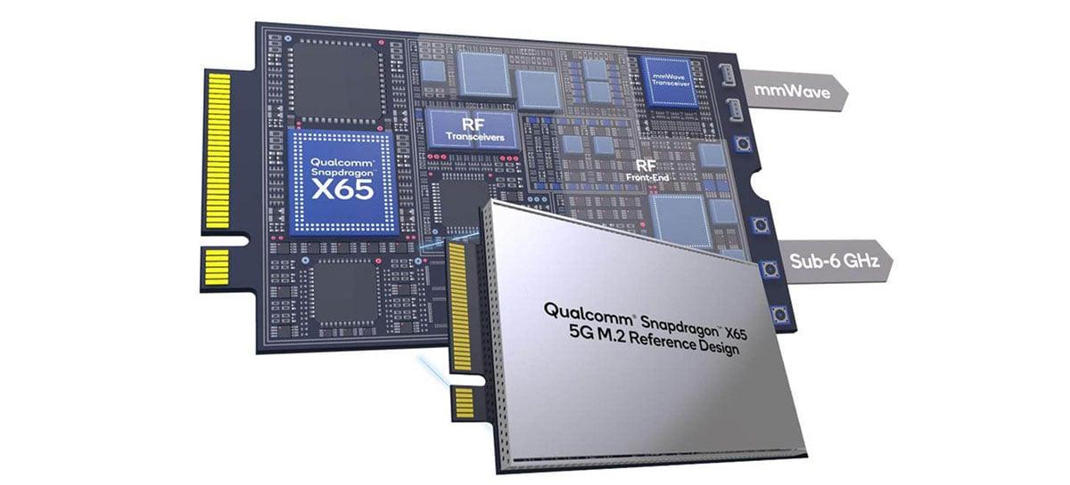 Qualcomm lança modem 5G plug-and-play Snapdragon X65 compatível com notebooks