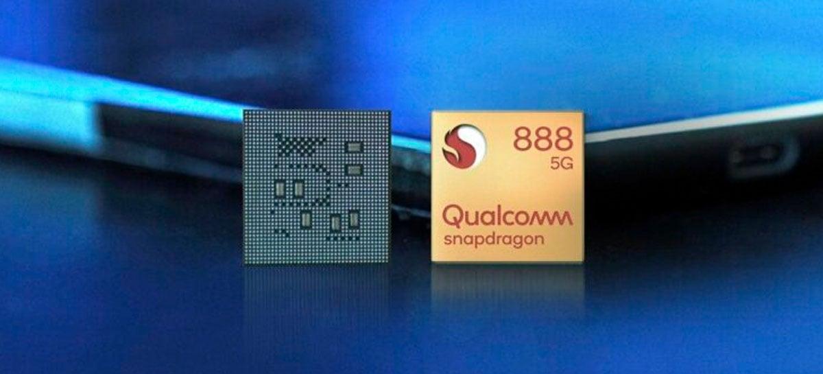 Snapdragon 888 tem desempenho inferior ao A14 Bionic, da Apple